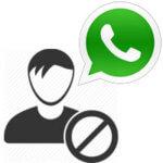 Как заблокировать контакт в Ватсапе