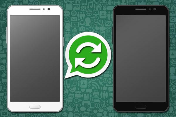 Перенос чатов WhatsApp на другой телефон
