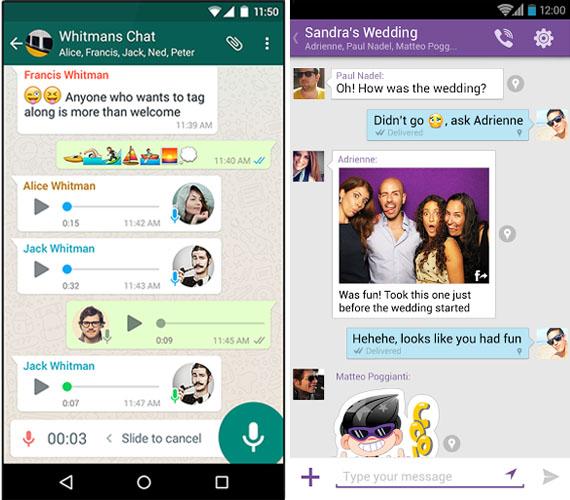Что лучше Viber или WhatsApp