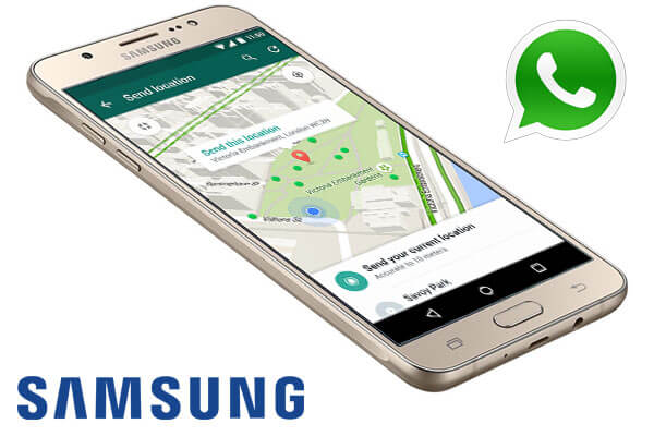 WhatsApp на телефон Samsung