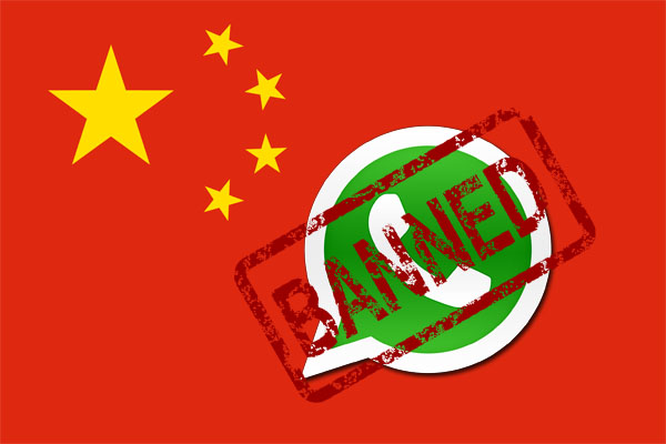 Не работает Ватсап в Китае
